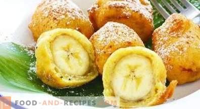 Banane in pastella