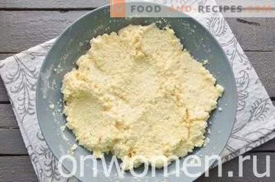 Torte al formaggio nel forno