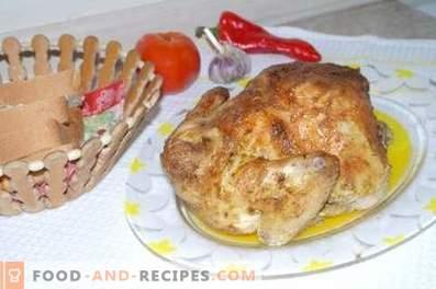 Pollo al cartoccio nel forno