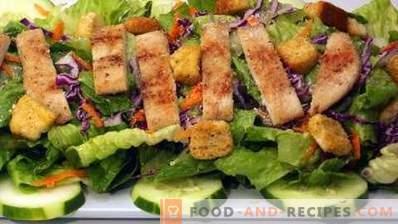 Come cucinare un'insalata Caesar