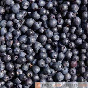 How to freeze blueberries for the winter