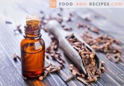 Olio di chiodi di garofano: proprietà e applicazioni