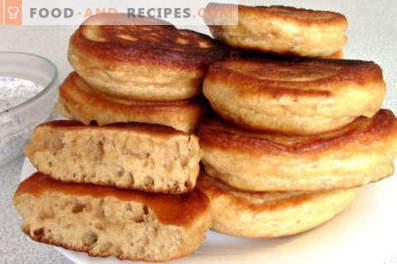Pancakes su latte condensato