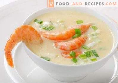 Zuppa di crema di pesce
