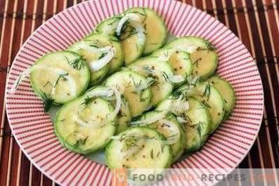 Zucchine Salate Istantanee