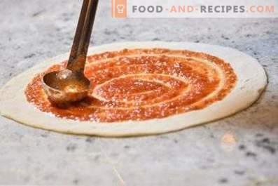 salsa di pomodoro per pizza