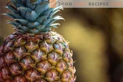 Come conservare l'ananas