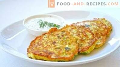 Zucchine e patate fritte