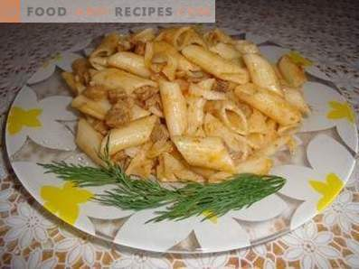 Come cucinare la pasta in stile marino