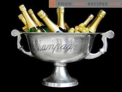 Come bere champagne