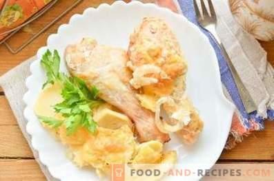 Come cucinare il pollo con le patate nel forno