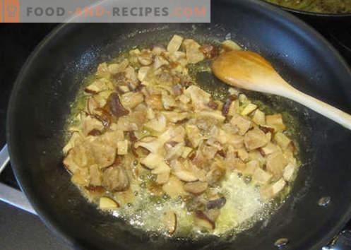 Salsa lasagna - le ricette giuste. Come cucinare velocemente e saporita salsa per lasagne.